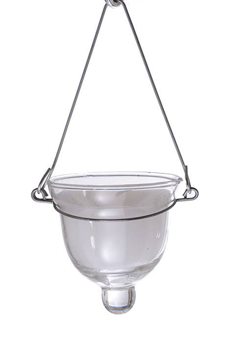 2 5 hanging votive candle w wire white clear pkg 24 for Hanging votive candles