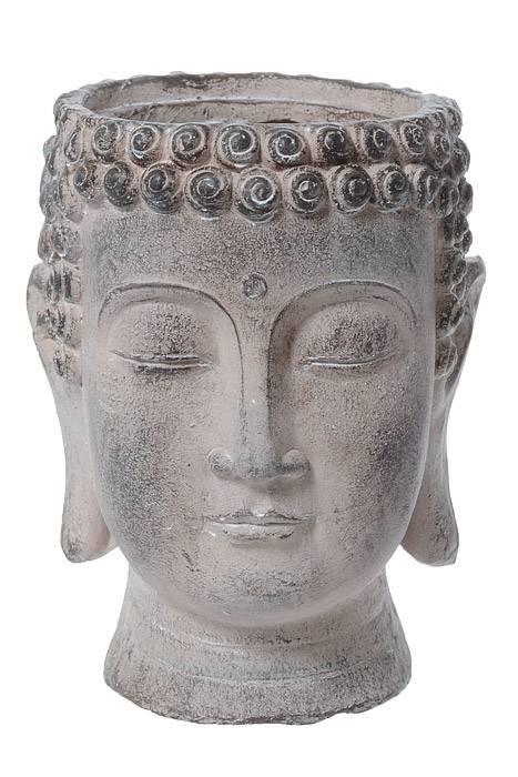 8 5 Quot X 6 Quot Buddha Head Planter Brown Antique Gandgwebstore Com
