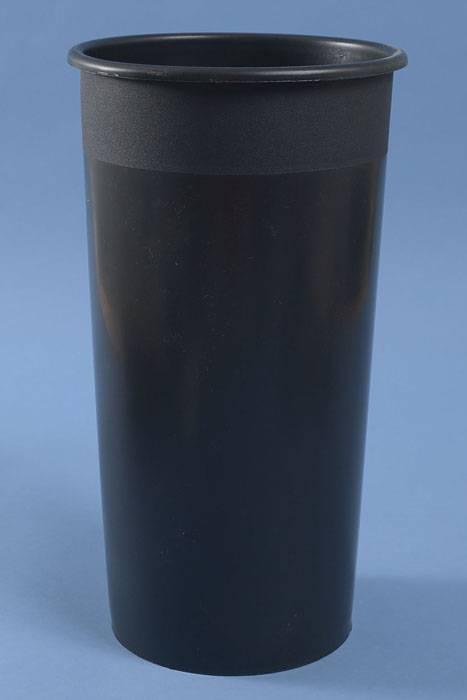 Round Styrofoam Cooler ~ Quot round plastic cooler bucket black