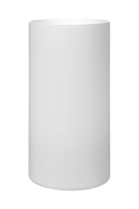 4 Quot X 8 Quot Cylinder Glass Vase White Gandgwebstore Com