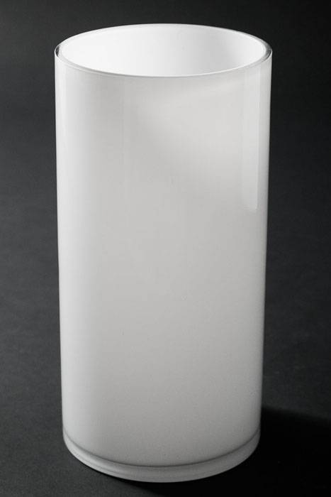5 Quot X 10 Quot Cylinder Glass Vase White Gandgwebstore Com