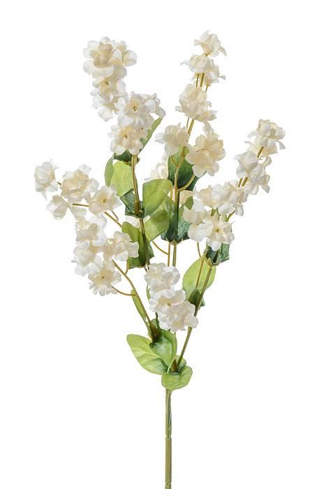 New Artificial Fake Silk Flower Baby/'s Breath Spray 70cm Green Cream