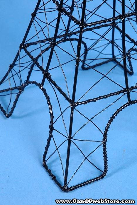 how to make the eiffel tower with wire