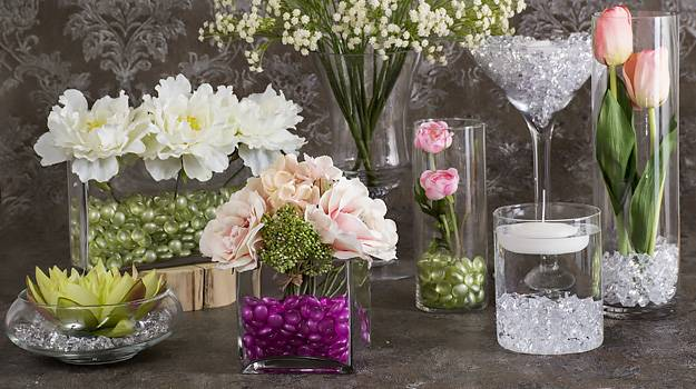 Silk Flowers And Glass Vases At Very Low Prices Shop Now