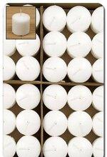 VOTIVE CANDLE WHITE PKG/72