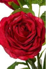 """26"""" SILK ROSE SPRAY RED"""