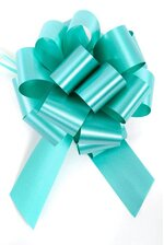 PERFECT BOW PULL RIBBON PKG/10 TURQUOISE