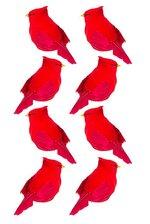 "6"" CARDINAL RED BX/8"
