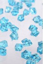 SMALL ACRYLIC CUBE BLUE PKG/1LB
