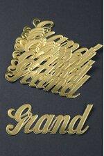 "1.5"" LARGE PAPER ""GRAND"" GOLD PKG/10"