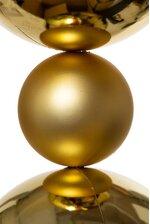 9FT MATTE/SHINY BALL GARLAND GOLD