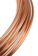 2MM X 10YDS ALUMINIUM WIRE LIGHT BROWN