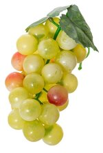 "6"" ROUND GRAPE CLUSTER W/LEAF YELLOW"