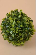 "5"" PLASTIC BOXWOOD BALL GREEN"