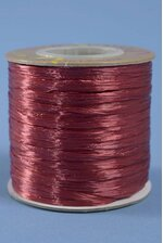 100YDS PEARLIZED RAFFIA BURGUNDY