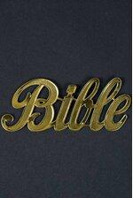 "1.75"" LARGE PAPER ""BIBLE"" GOLD PKG/10"