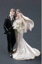 "5.75"" WEDDING COUPLE TAN"