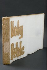 "24"" STYROFOAM HOLY BIBLE WHITE/GOLD"