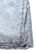 """60"""" X 5YDS SEQUIN NETTING SILVER"""