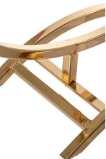"""19.5"""" METAL STAND GOLD"""