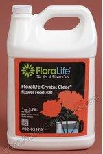 LIQUID FLOWER FOOD 1 GALLON CRYSTAL CLEAR