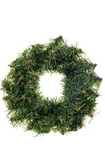 """4"""" CANADIAN PINE WREATH (PACK OF 12)(GREEN)"""