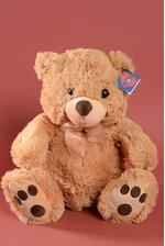 "16"" HUGGABLE BEAR BROWN/BROWN"