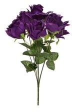 "16"" Printing Rose Bush Purple"
