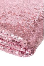 """60"""" X 5YDS SEQUIN NETTING PINK"""