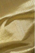 "64"" METALLIC DUPION XMAS TREE SKIRT W/WELTING GOLD"