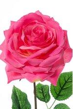 """20"""" OPEN ROSE SPRAY FUSCHIA"""