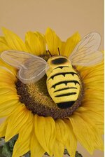 """5"""" JUMBO BEE YELLOW PKG/6"""