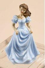 """3"""" BRIDESMAID BLUE PKG/12"""