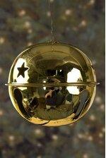 70MM JINGLE BELL GOLD PKG/6