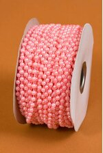 4MM X 24YDS MOT BEAD GARLAND LIGHT PINK