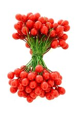 7MM HOLLY BERRIES RED PKG/144