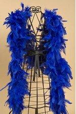 "72"" FEATHER BOAS (60GM) ROYAL BLUE EA"