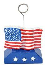 US FLAG PHOTO HOLDER & BALLOON WEIGHT