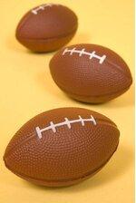"""3.5"""" FOOT BALL BROWN PKG/12"""
