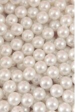 14MM ABS PEARL BEADS WHITE PKG(500g)
