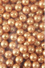 14MM ABS PEARL BEADS GOLD PKG(500g)