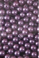 14MM ABS PEARL BEADS PURPLE PKG(500g)