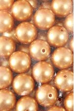 20MM ABS PEARL BEADS GOLD PKG(500g)