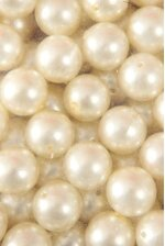 20MM ABS PEARL BEADS IVORY PKG(500g)