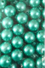 20MM ABS PEARL BEADS TEAL PKG(500g)