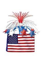 "13"" AMERICAN FLAG CENTERPIECE"