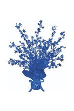 """15"""" STAR GLEAM 'N BURST CENTERPIECE BLUE"""