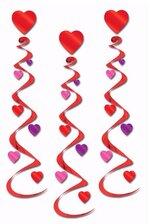 "30"" HEART WHIRLS RED/PINK/PURPLE PKG/3"