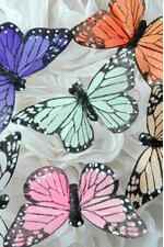 "3"" BUTTERFLY ASSORTED PKG/12"