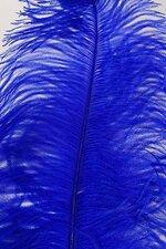 """22""""-26"""" OSTRICH PLUM ROYAL BLUE PKG/6"""